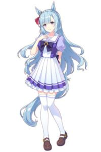 【ウマ娘】メジロアルダンちゃんって正直肩幅のガタイが良すぎじゃないか・・?